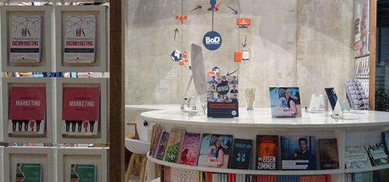 Die BoD-Events auf der Buchmesse.