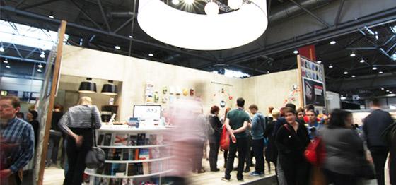 Der Autor im Mittelpunkt: BoD auf der Buchmesse.